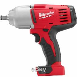 18V M18 1/2 High Torque Cordless Impact Wrench With Friction Ring Four Pole Motor