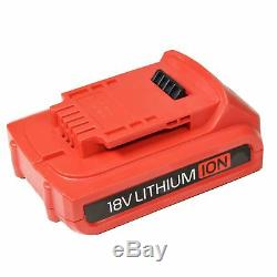 18v Lithium Li-ion Cordless Battery Impact Gun Wrench 350Nm with 2 Batteries