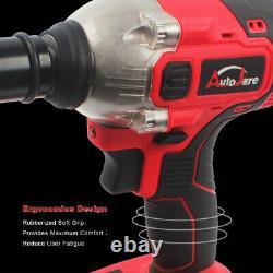 1/2 Electric Cordless Impact Wrench Brushless Drill Driver Li-Ion 18V 20V max