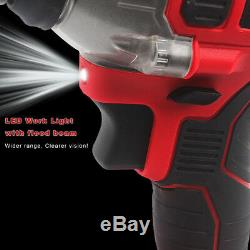1/2 in Impact Wrench Cordless Battery 18V 20V Craftsman High Torque Detent Pin