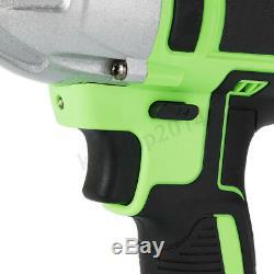 20000mAh 98VF Brushless Electric Cordless Impact Wrench Gun High Torque Drill
