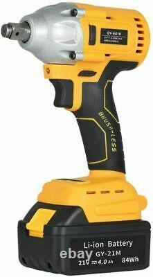 20V 1/2 Cordless Impact Wrench Pin Detent 20 Volt Max US Stock 2021 NEW