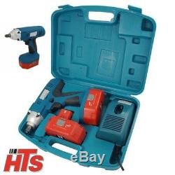 24v 1/2 Drive Cordless Impact Wrench Ratchet & 2 Batteries