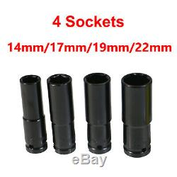 36VF Electric Cordless Impact Wrench Torque Drill Tool 2X 6000mAh Li-Ion Battery