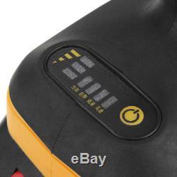 68V 6000mAh Brushless Cordless Drive Impact Wrench 2 Li-Ion Battery Charger