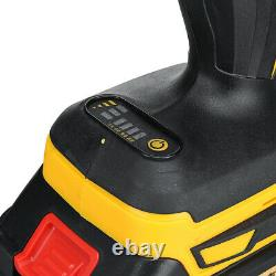 68V Electric Cordless Impact Wrench Brushless Impact Drill Power Tool+2 Batterys