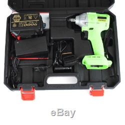 98V Cordless 520 Nm High Torque Li-ion Brushless motor Electric Impact Wrench
