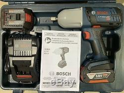 Bosch 18V Cordless Lithium-Ion High Torque 1/2 in. Impact Wrench HTH18101 New
