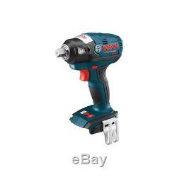 Bosch 18V Li-Ion Brushless 1/2 Square Drive Impact Wrench (Tool) IWBH182B New