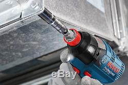 Bosch Cordless li-ion Brushless Impact Wrench Driver GDX 18V-EC Body Only
