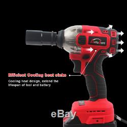 CORDLESS IMPACT WRENCH GUN DRIVER with BATTERY CHARGER POWER TOOL