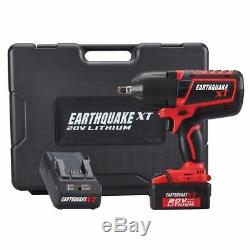 Cordless 20V Battery Powered Half-Inch Impact Wrench 1/2 Driver Gun Electric Kit