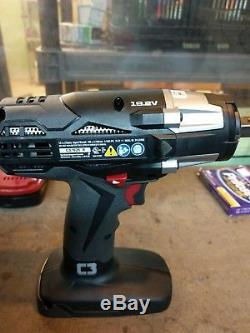 Craftsman C3 19 2v Cordless 1 2 Reversible Impact Wrench Id2030 Tool Only New