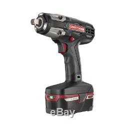 Craftsman C3 1/2 Heavy Duty 19.2V Cordless Impact Wrench Kit Battery Charger