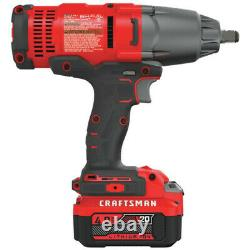 Craftsman CMCF900M1R 20V 1/2 in. Impact Wrench Kit 4Ah Certified Refurbished