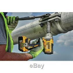 DEWALT 20V MAX XR 1/2 in. Mid-Range Impact Wrench Kit DCF894P2 New