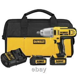 DEWALT 20V MAX XR Li-Ion 1/2 in. HT Impact Wrench Kit with D-Pin DCF889M2 New