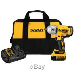 DEWALT Cordless Li-Ion 1/2 Impact Wrench with Battery DCF899P1R Reconditioned