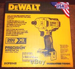 DEWALT DCF894B 20V MAX XR 1/2 Inch Mid-Range Cordless Impact Wrench (Tool Only)