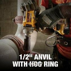DEWALT DCF894B 20V MAX XR Cordless Impact Wrench with Hog Ring Anvil, 1/2-Inch