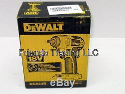 DeWALT 18V 18 Volt Lithium Ion or Nicd 3/8 Drive Cordless Impact Wrench DC823