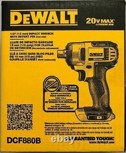 DeWALT DCF880B 20V Li-Ion 1/2 Cordless Impact Drill Bare tool NEW in Box