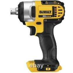 DeWALT DCF880B 20V MAX 1/2-in Impact Wrench with Detent Pin Anvil Bare Tool