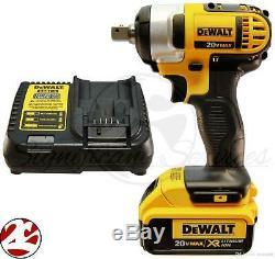 DeWALT DCF880 DCF880B 20V 20 Volt MAX Cordless Drill 1/2 Impact Wrench Kit