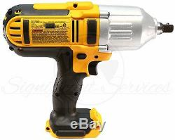DeWALT DCF889 20V MAX Li-Ion Cordless 1/2 Detent Impact Wrench 5.0 Ah Batteries