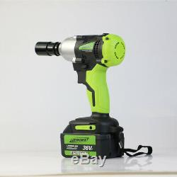 DeWorx 21V Max Cordless Lithium-Ion 1/2 High Torque Impact Wrench With 4X Sockets