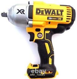 Dewalt 20V DCF899 Brushless 1/2 Impact Wrench, (1) DCB205 5.0 AH Battery, Charger