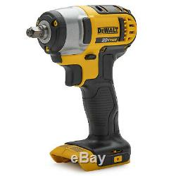 Dewalt 20V MAX Cordless Impact Wrench with Hog Ring (3/8-Inch)