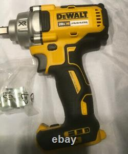 Dewalt 20 V Max XR cordless brushless 1/2 in. Mid Range impact wrench tool only