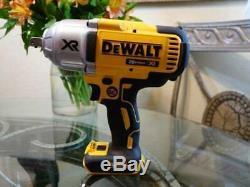 Dewalt 20-Volt Max XR 1/2 Cordless Impact Wrench With Detent Pin 20V DCF899B