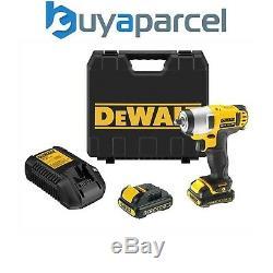Dewalt DCF813D2 10.8v Lithium Ion Compact Cordless Impact Wrench 2 x Batteries