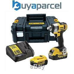 Dewalt DCF880M2 18V XR Li-Ion 1/2 Compact Impact Wrench 2 x 4.0ah Batteries