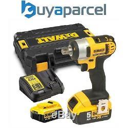 Dewalt DCF880P2 18V XR Li-Ion 1/2 Compact Impact Wrench 2 x 5.0ah Batteries