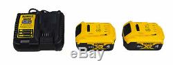 Dewalt DCF889M2 20V MAX XR Cordless Lithium-Ion 1/2 in High-Torque Impact Wrench