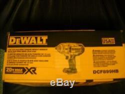 Dewalt DCF899HB 1/2 20V High Torque Cordless Impact Wrench Hog Ring Anvil