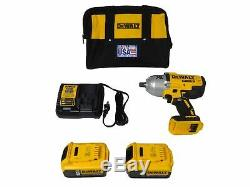 Dewalt DCF899P2 20V Lithium-Ion Cordless 1/2in Impact Wrench Kit with Detent Anvil
