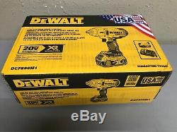 Dewalt DCF899m1 XR 20- volt 1/2 Drive Cordless Impact Wrench Kit (New)