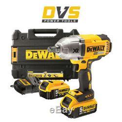 Dewalt Dcf899p2 Xr 18v Cordless Brushless 3 Speed High Torque Impact Wrench Set