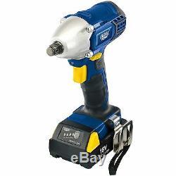 Draper Expert 18V Cordless 1/2 Sq Dr Impact Wrench 83689