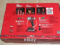 FUEL 18V 1/2 in. Cordless Mid Torque Impact Wrench With Pin Detent COMBO 2860-21P