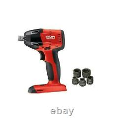 Hilti SIW 6AT-A22 cordless impact driver 1/2 WithEXTRAS BRAND NEW