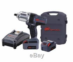 INGERSOLL-RAND Cordless Impact Wrench Kit W7150-K2, 2 Batteries
