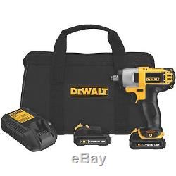 Impact Wrench Kit Cordless 12v Power Emergency Tire Tools 3/8 Drive Lithium