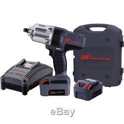Ingersoll Rand IQv20 Series Cordless Impact Wrench Kit 20V 1/2in Drive 2 Batt