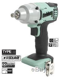 Kielder 18v 1/2 & 3/8 Inch Cordless Impact Work Wrench Kit Kielder Angle Grinder