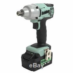 Kielder 18v 1/2 Inch Cordless Impact Torque Wrench Gun 1 x 4.0Ah Lithium Li-Ion